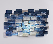 Arctic by Karo Martirosyan (Art Glass Wall Sculpture)