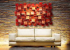 Sedona by Karo Martirosyan (Art Glass Wall Sculpture)