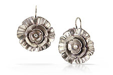 In Bloom Earrings by Susie Aoki (Silver Earrings)