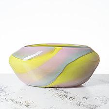 Daytona Vase by Aaron Baigelman (Art Glass Vase)
