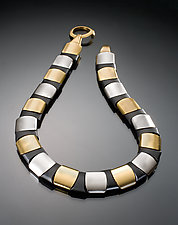 Reversible Round Collar by Erica Zap (Metal Necklace)