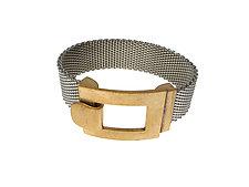 Flat Mesh Bracelet by Erica Zap (Metal Bracelet)