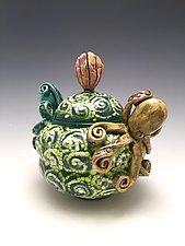 Two Friends by Lilia Venier (Ceramic Vessel)