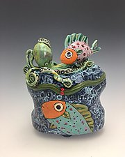 Ocean Friends II by Lilia Venier (Ceramic Box)