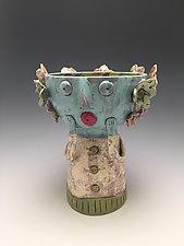 Vicki - Chalice Girl by Lilia Venier (Ceramic Vessel)