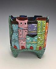 Tuscany VIII by Lilia Venier (Ceramic Vase)