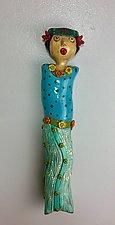 Celeste by Lilia Venier (Ceramic Sculpture)