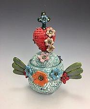 Faith by Lilia Venier (Ceramic Jar)