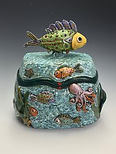 Tropical Paradise II by Lilia Venier (Ceramic Box)