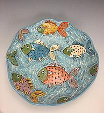Tropical Life by Lilia Venier (Ceramic Platter)