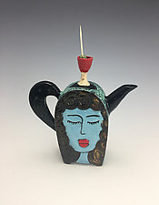 Martini Girls by Lilia Venier (Ceramic Teapot)
