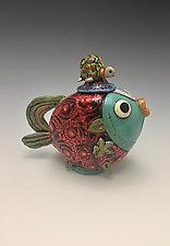 Red Snapper by Lilia Venier (Ceramic Teapot)