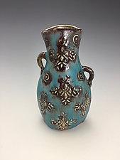 Starry Night by Lilia Venier (Ceramic Vase)