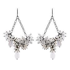 Vanora Earrings by Michelle Pajak-Reynolds (Silver & Stone Earrings)