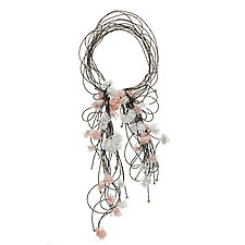 Flourish by Michelle Pajak-Reynolds (Mixed-Media Necklace)