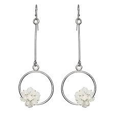 Adva Moonstone Drop Earrings by Michelle Pajak-Reynolds (Silver & Stone Earrings)