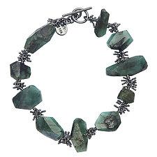 Nagisa Bracelet by Michelle Pajak-Reynolds (Silver & Stone Bracelet)