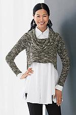 Rowan Cropped Sweater by Sympli  (Knit Sweater)