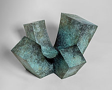 4-Up by Jan Hoy (Bronze Sculpture)