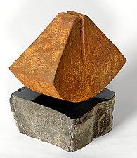 Cradle by Jan Hoy (Ceramic Sculpture)