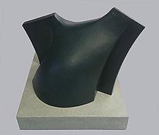 Torso by Jan Hoy (Ceramic Sculpture)