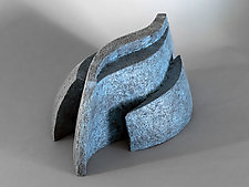 Currents by Jan Hoy (Ceramic Sculpture)