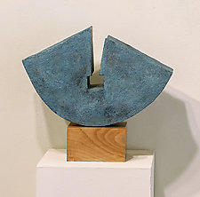 Unlock by Jan Hoy (Ceramic Sculpture)