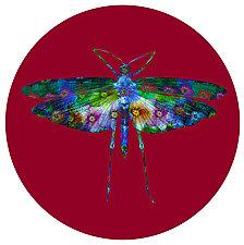 Grasshoper Circle 1 by Dario Preger (Color Photograph)