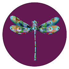 Dragonfly Circle 2 by Dario Preger (Color Photograph)