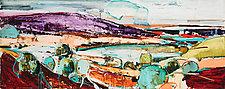 Cypress by Meghan Wilbar (Oil Painting)