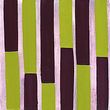 Stripes! #2 by Laura Nugent (Acrylic Painting)