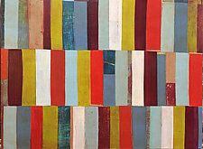 Interrupted Pattern #15 by Laura Nugent (Acrylic Painting)
