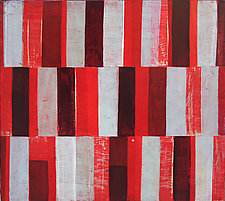 Interrupted Pattern #18 by Laura Nugent (Acrylic Painting)