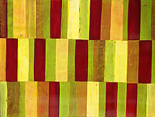 Interrupted Pattern #21 by Laura Nugent (Acrylic Painting)