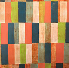 Interrupted Pattern #23 by Laura Nugent (Acrylic Painting)
