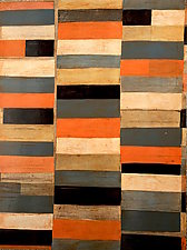 Interrupted Pattern #24 by Laura Nugent (Acrylic Painting)