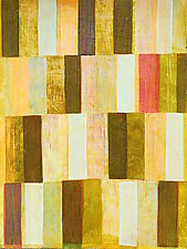 Interrupted Pattern #25 by Laura Nugent (Acrylic Painting)