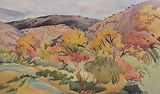 Escalante Canyon by Meredith Nemirov (Watercolor Painting)