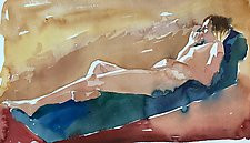 In Sunlight by Meredith Nemirov (Watercolor Painting)