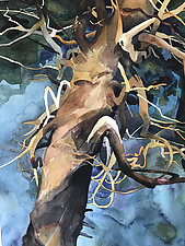 Entangled by Meredith Nemirov (Watercolor Painting)