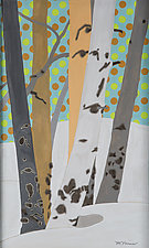 Patterns in Nature with Polka Dots by Meredith Nemirov (Watercolor Painting)