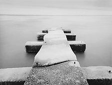 Pier #1 Doctor's Park by William Lemke (Black & White Photograph)