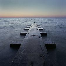 Pier Lake Michigan by William Lemke (Color Photograph)