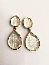 Miro Teardrop Earrings by Priya Himatsingka (Gold & Stone Earrings)