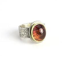 Tourmaline Reef Ring by Janet Blake (Gold, Silver & Stone Ring)