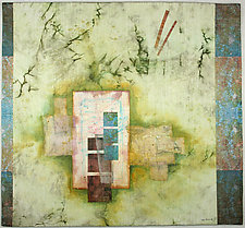Soliloquy III by Peggy Brown (Fiber Wall Hanging)