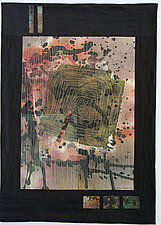 One Square Off by Peggy Brown (Fiber Wall Hanging)