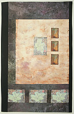 Remembering October II by Peggy Brown (Fiber Wall Hanging)