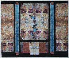 Windows Revisited by Peggy Brown (Fiber Wall Hanging)