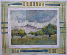 Texas Hill Country by Peggy Brown (Fiber Wall Hanging)